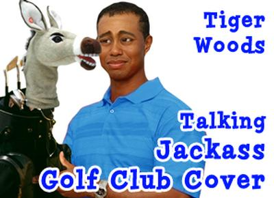 Click to get Talking Jackass Club Head Cover - 460cc